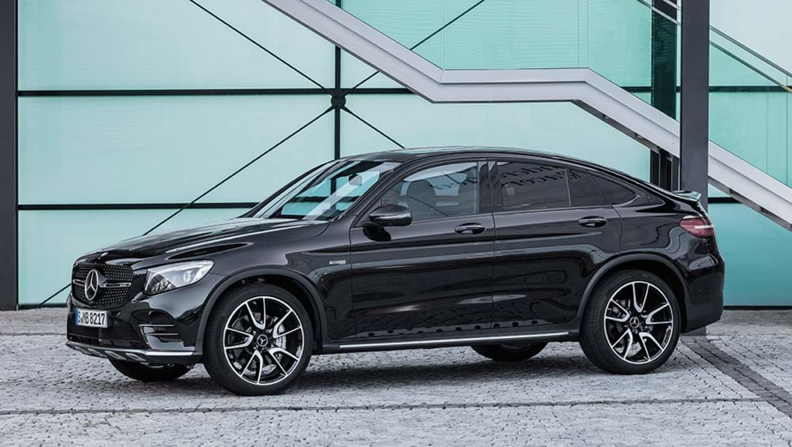2017 mercedes amg glc 43 coupe revealed ahead of paris. Black Bedroom Furniture Sets. Home Design Ideas