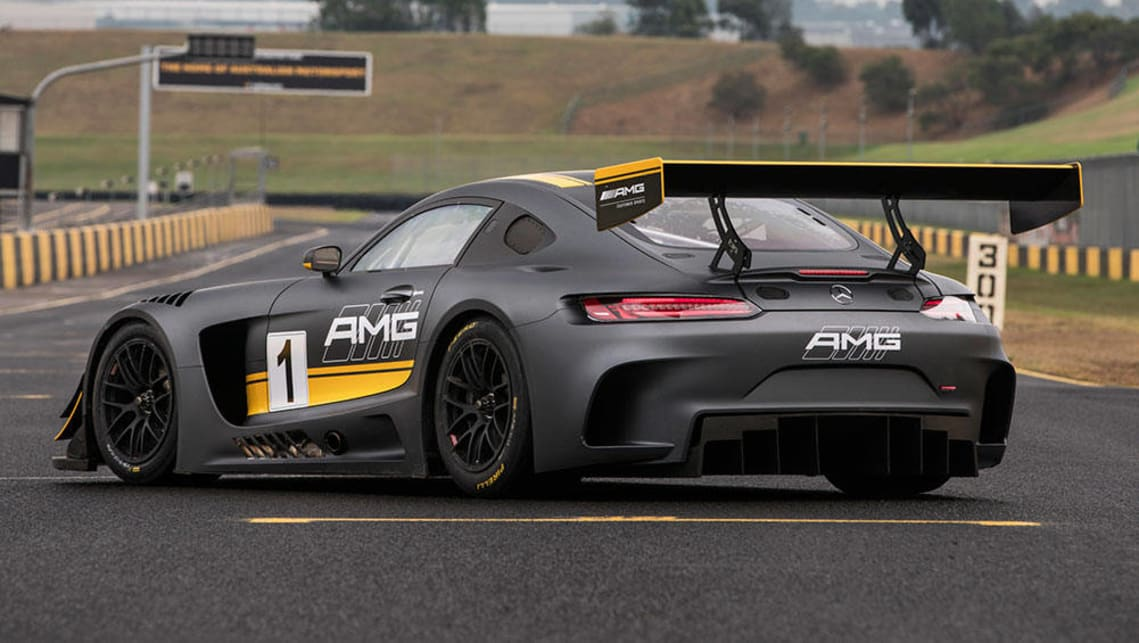 Mercedes amg gt3 2016 review carsguide for Mercedes benz gt3