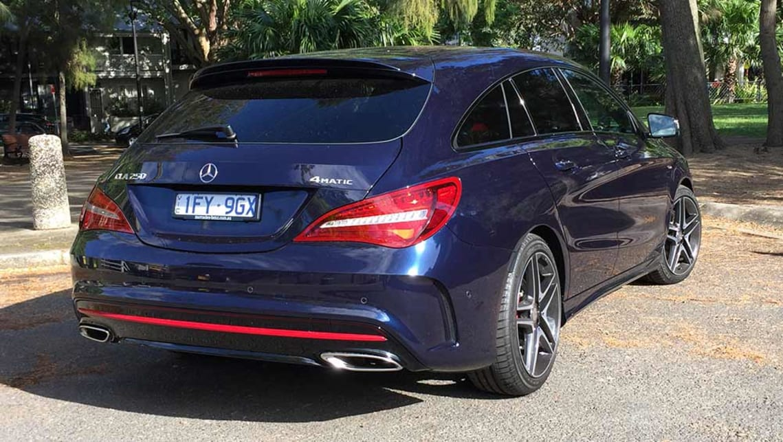 mercedes benz cla 250 sport 4matic shooting brake 2016 review carsguide. Black Bedroom Furniture Sets. Home Design Ideas