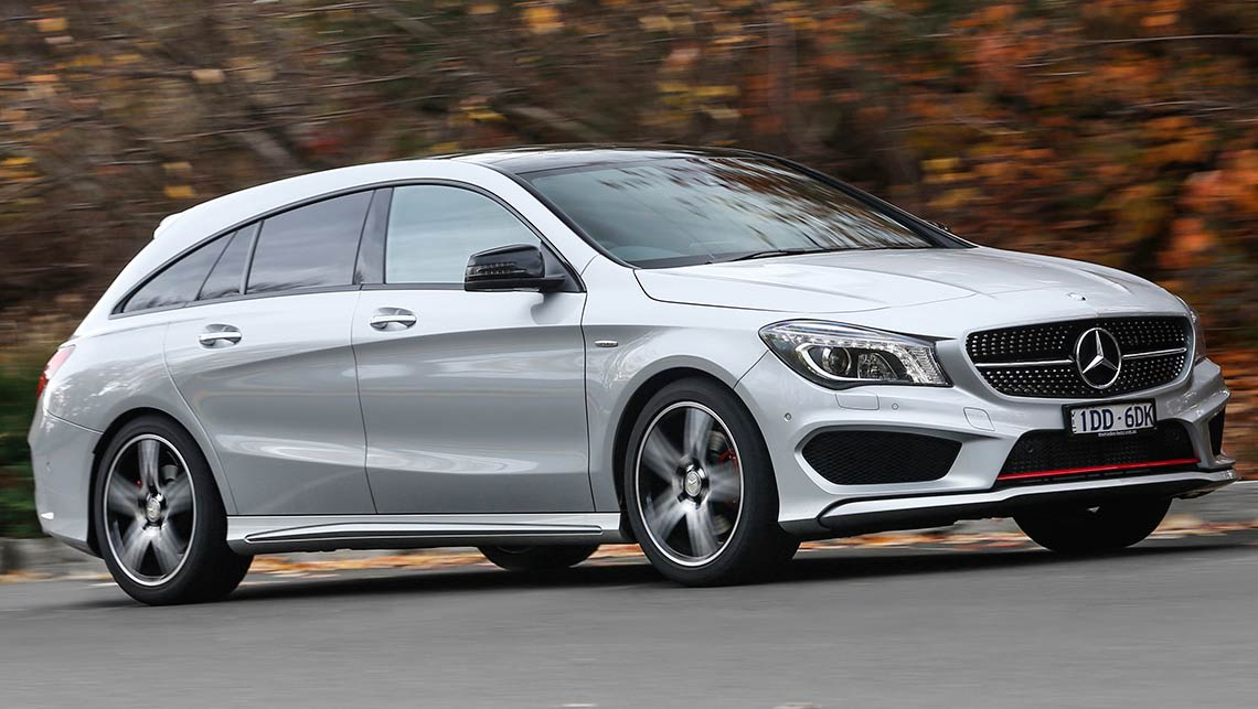 Elegant 2015 Mercedes Benz CLA Shooting Brake