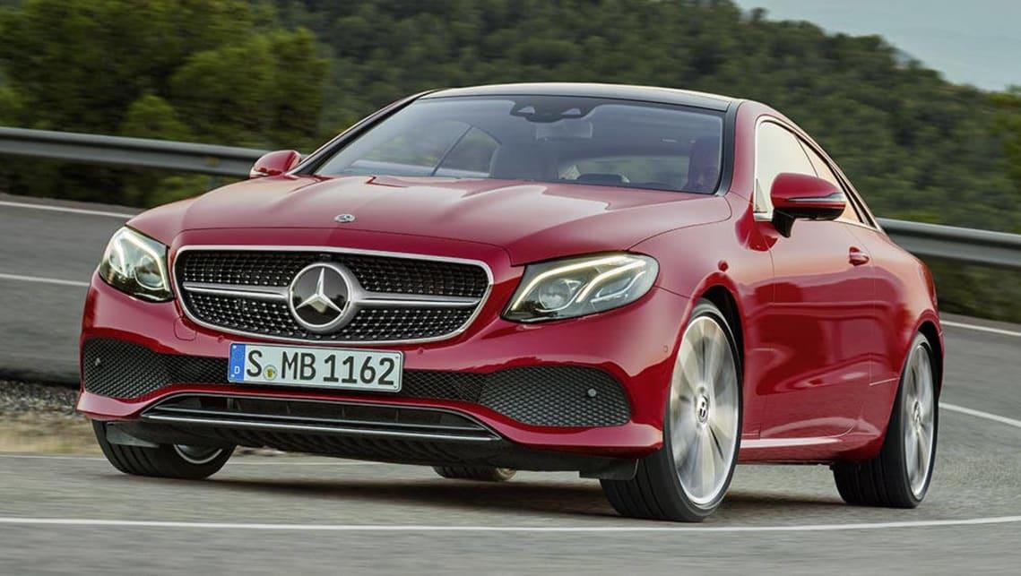 2017 Mercedes Benz E Class Coupe Revealed Car News