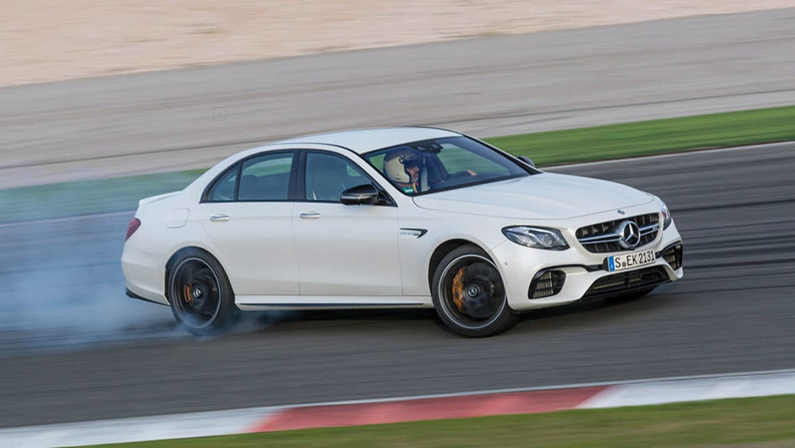 Mercedes amg e63 s 2017 review first drive carsguide for White mercedes benz 2017