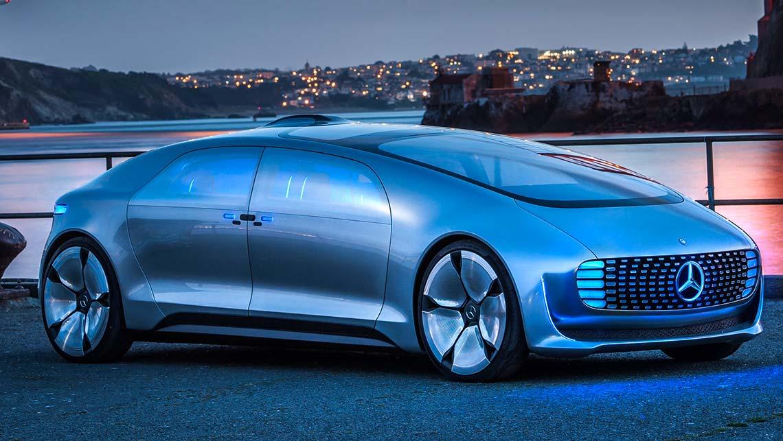 Mercedes demonstrates new autonomous car - Car News ...
