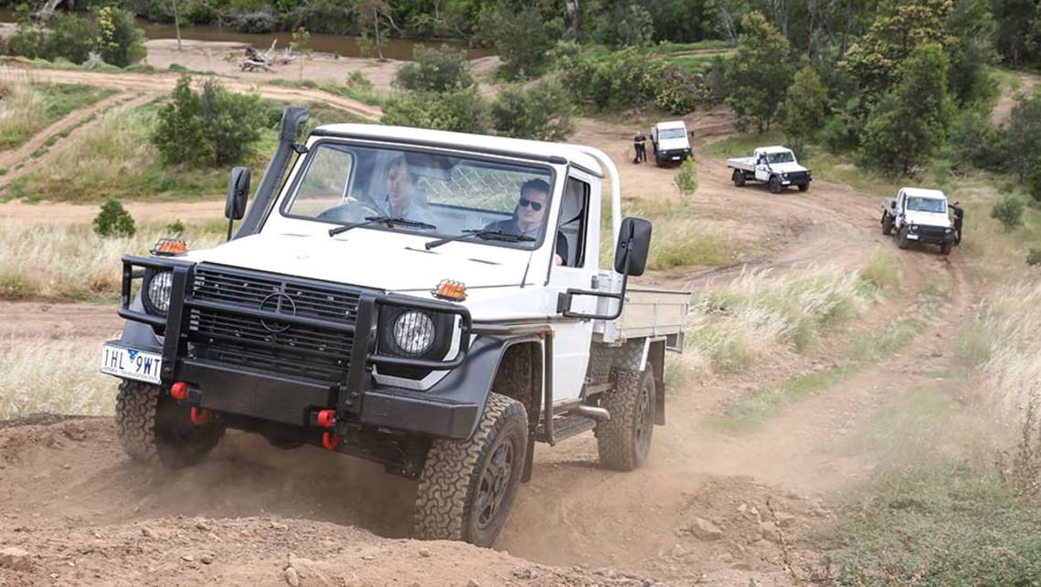 2016 mercedes benz g professional cab chassis review first drive carsguide. Black Bedroom Furniture Sets. Home Design Ideas