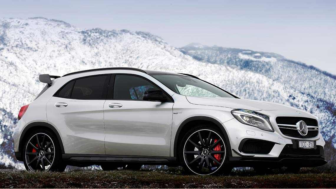 Mercedes Benz Gla 45 Amg 2014 Review Carsguide