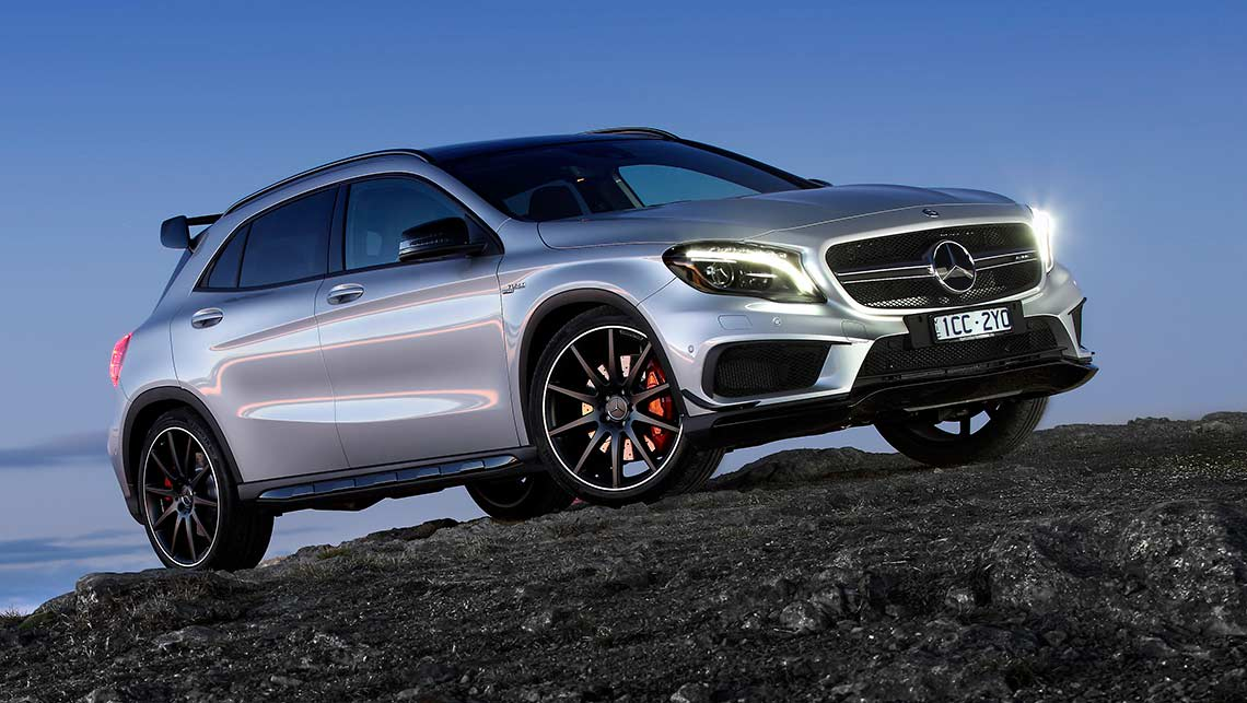 Mercedes benz gla 45 2014 review carsguide for Mercedes benz gla 2014 price