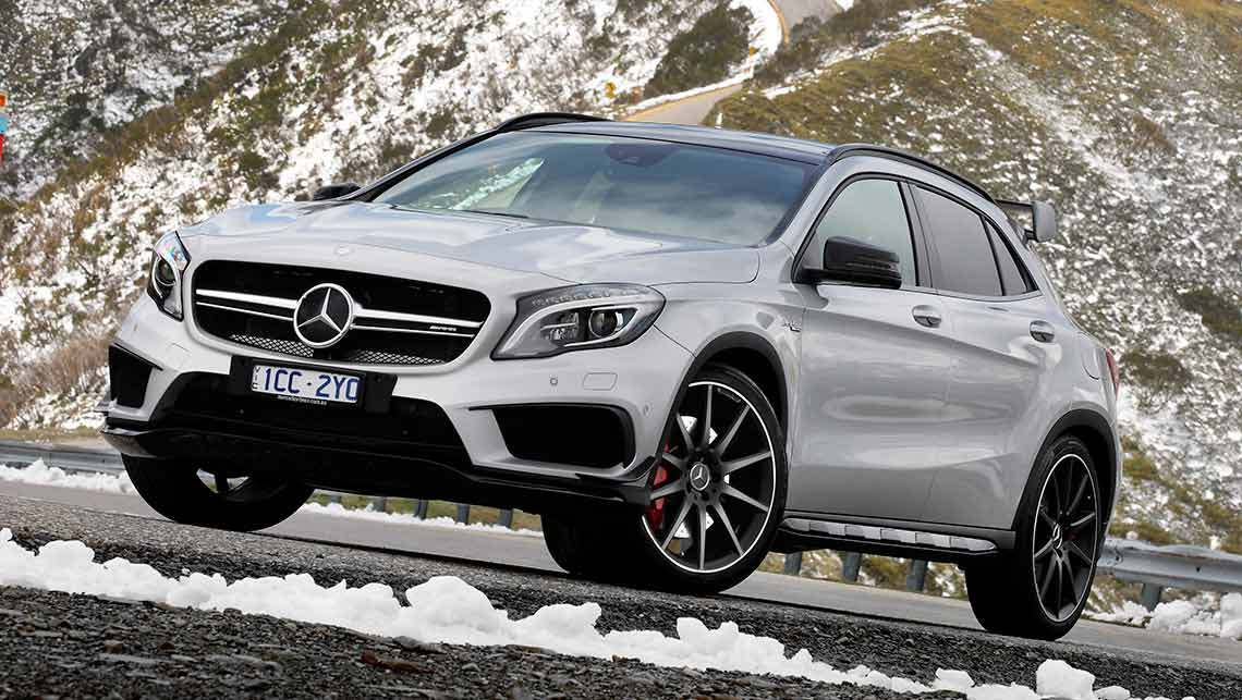 mercedes-benz gla 45 amg 2014 review | carsguide