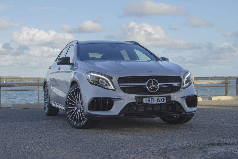 Mercedes Benz Gla 2018 Review Gla45 Amg Carsguide