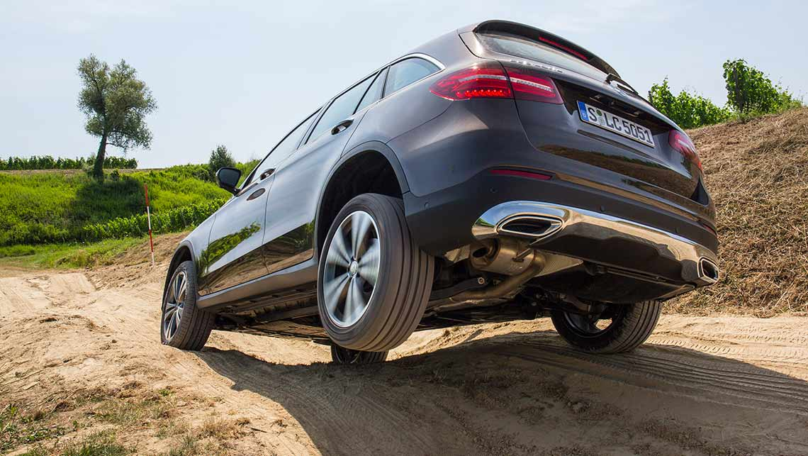 Mercedes-Benz GLC is based on the award-winning Mercedes C Class sedan.