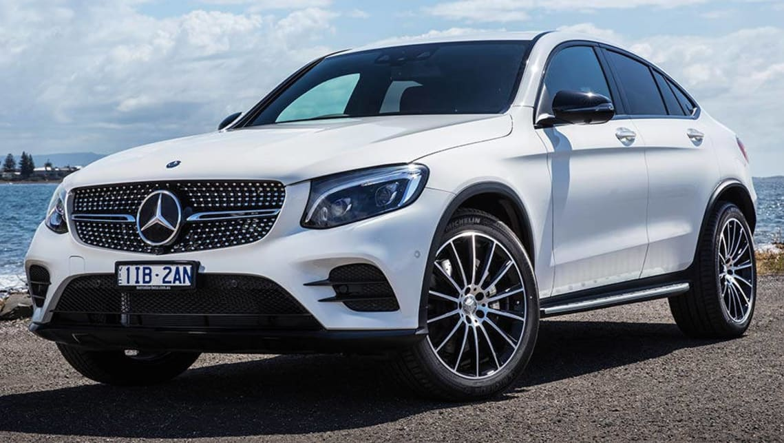mercedes benz glc 250d coupe 2016 review carsguide
