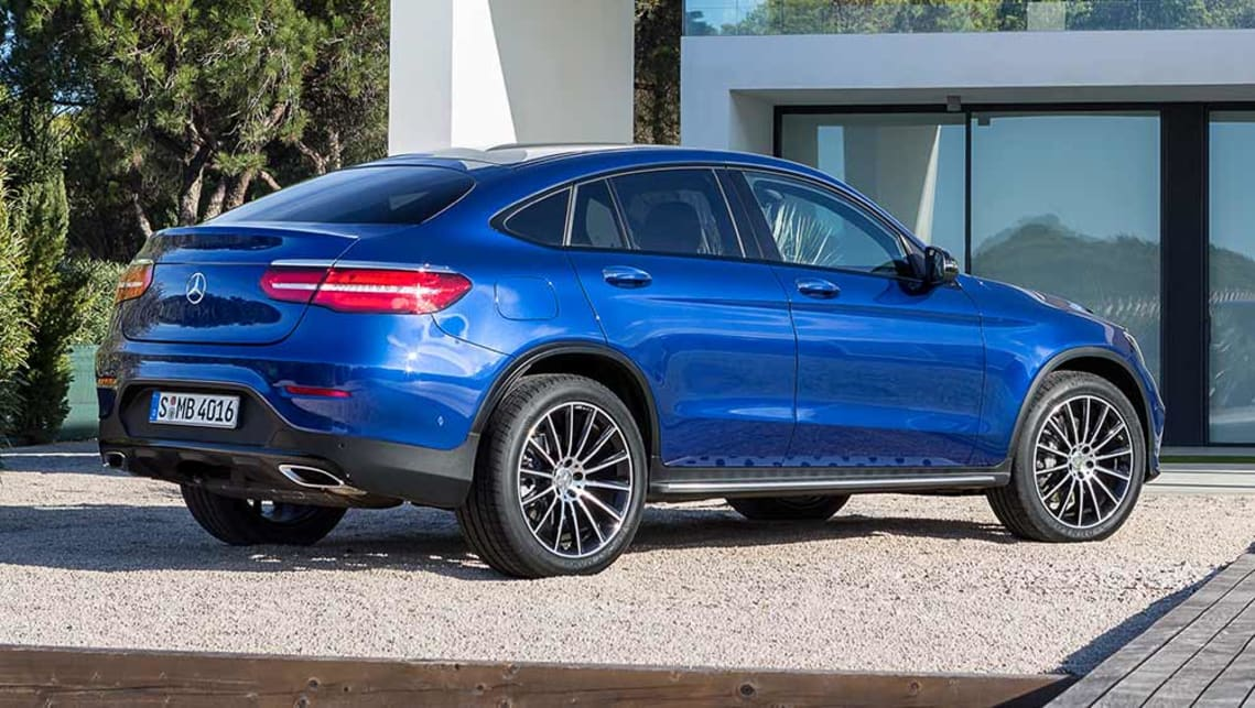 mercedes benz glc coupe 2016 new car sales price car news carsguide. Black Bedroom Furniture Sets. Home Design Ideas
