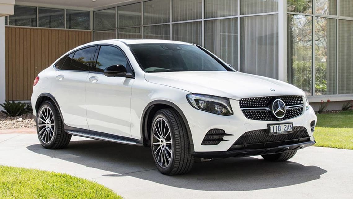 Mercedes benz glc coupe 2016 review first australian for Mercedes benz glc
