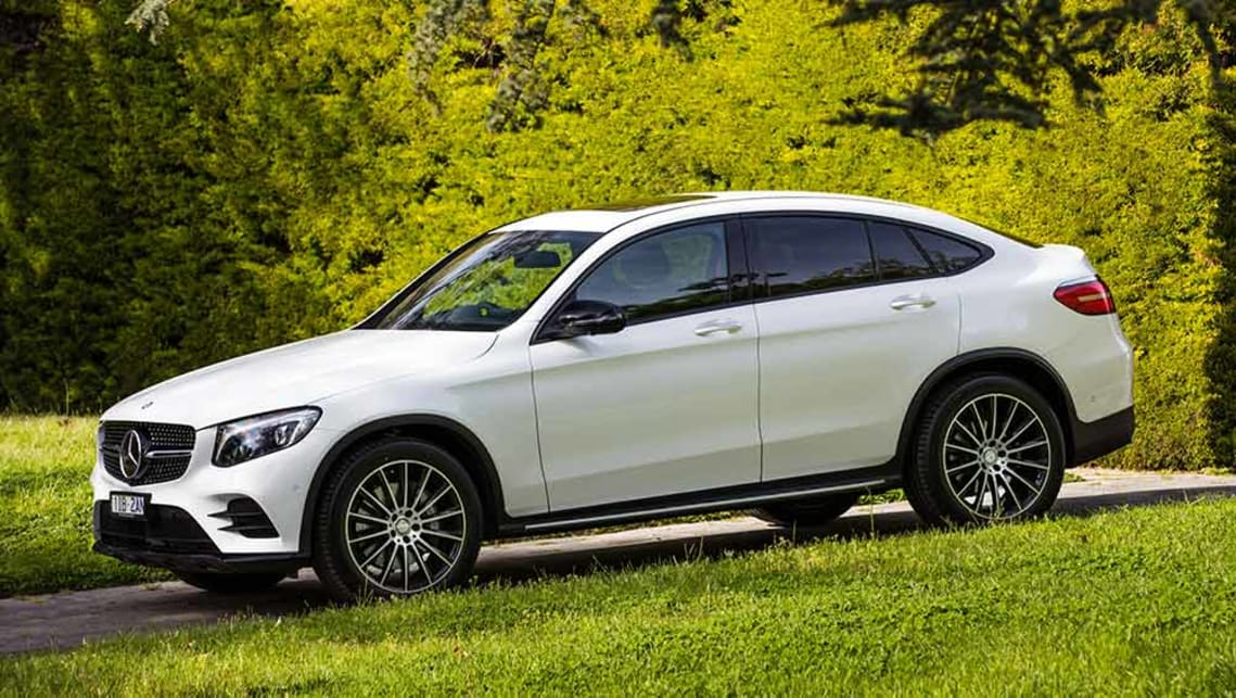 mercedes benz glc coupe 2016 review carsguide. Black Bedroom Furniture Sets. Home Design Ideas