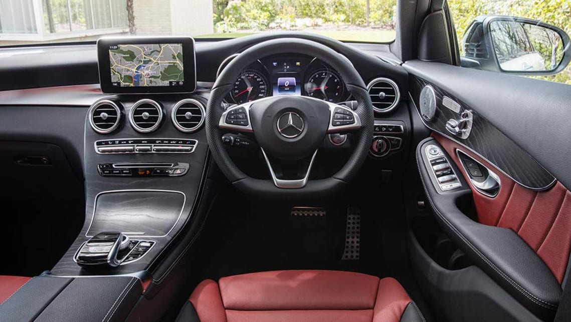 Mercedes Benz Glc 220d Coupe 2016 Review Snapshot Carsguide