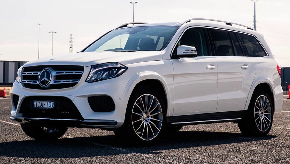2016 mercedes benz gls 500 review first drive carsguide for Gls mercedes benz suv
