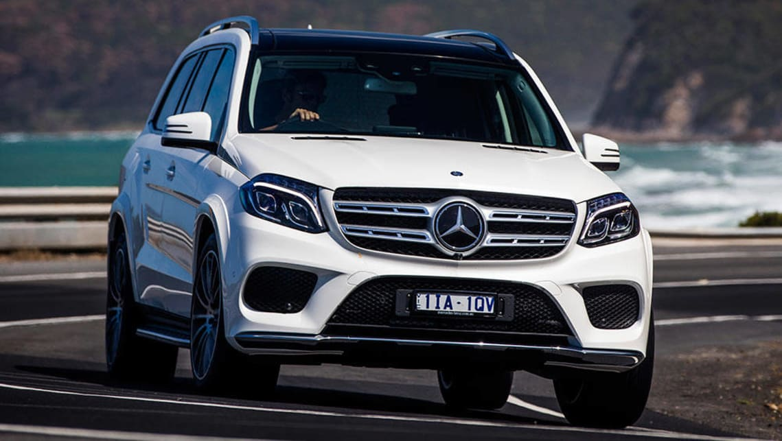 Mercedes benz gls 500 2016 review carsguide for Mercedes benz suv range