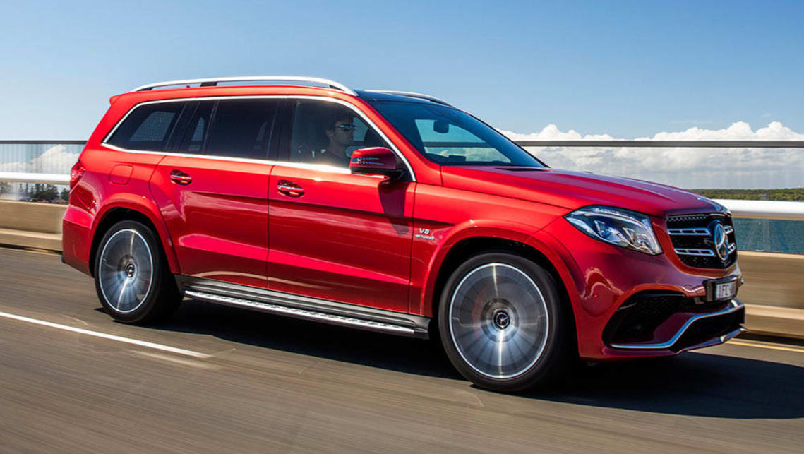 mercedes amg gls 63 2016 review road test carsguide. Black Bedroom Furniture Sets. Home Design Ideas