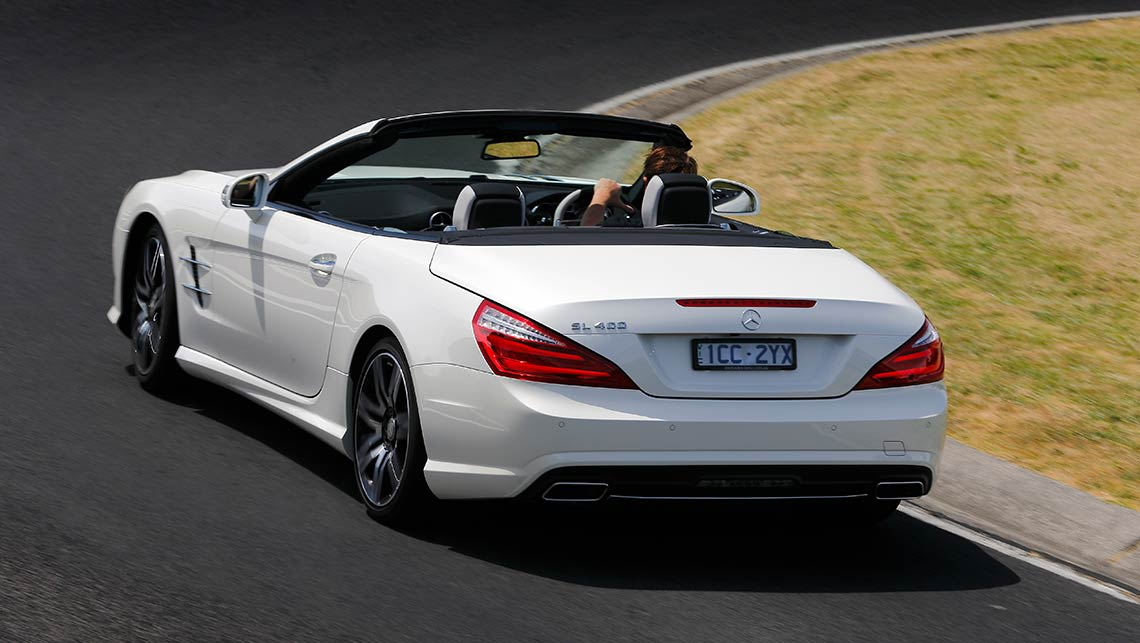 2015 mercedes benz sl400 review carsguide for Mercedes benz 400