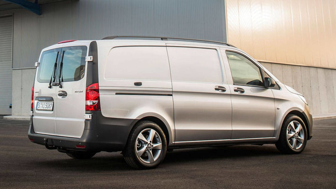 Mercedes benz vito 116cdi 2016 review carsguide for Mercedes benz mid size van