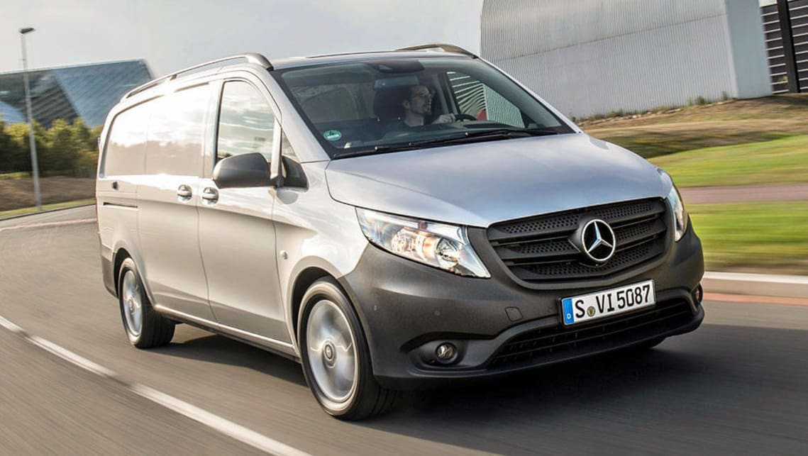 mercedes benz vito 116cdi 2016 review carsguide. Black Bedroom Furniture Sets. Home Design Ideas