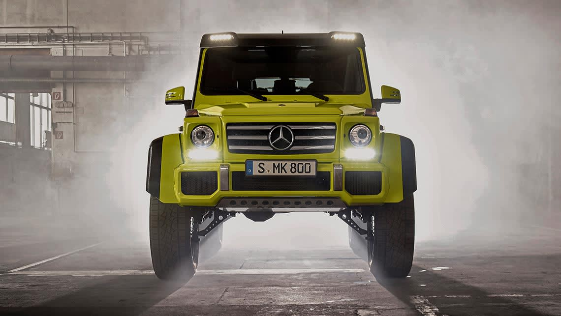 Mercedes Benz G500 4x4 Squared Revealed Car News Carsguide