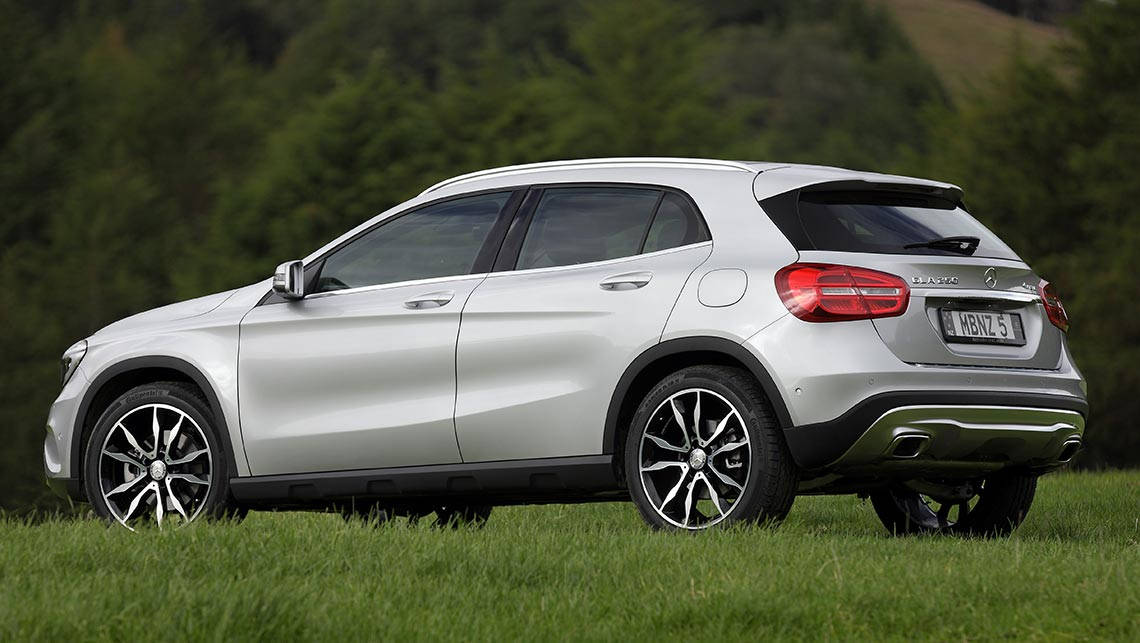2014 mercedes benz gla 250 4matic review carsguide for Mercedes benz gla 250 price