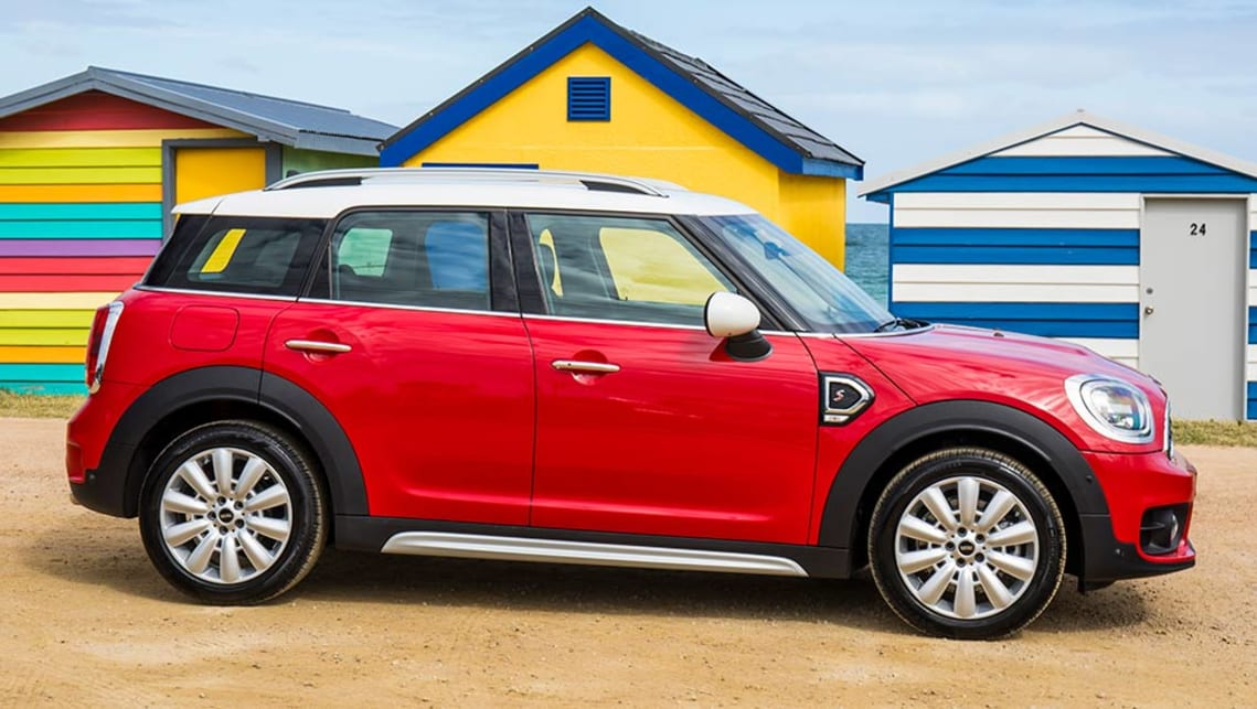 Mini Countryman Cooper S 2017 Review Snapshot Carsguide