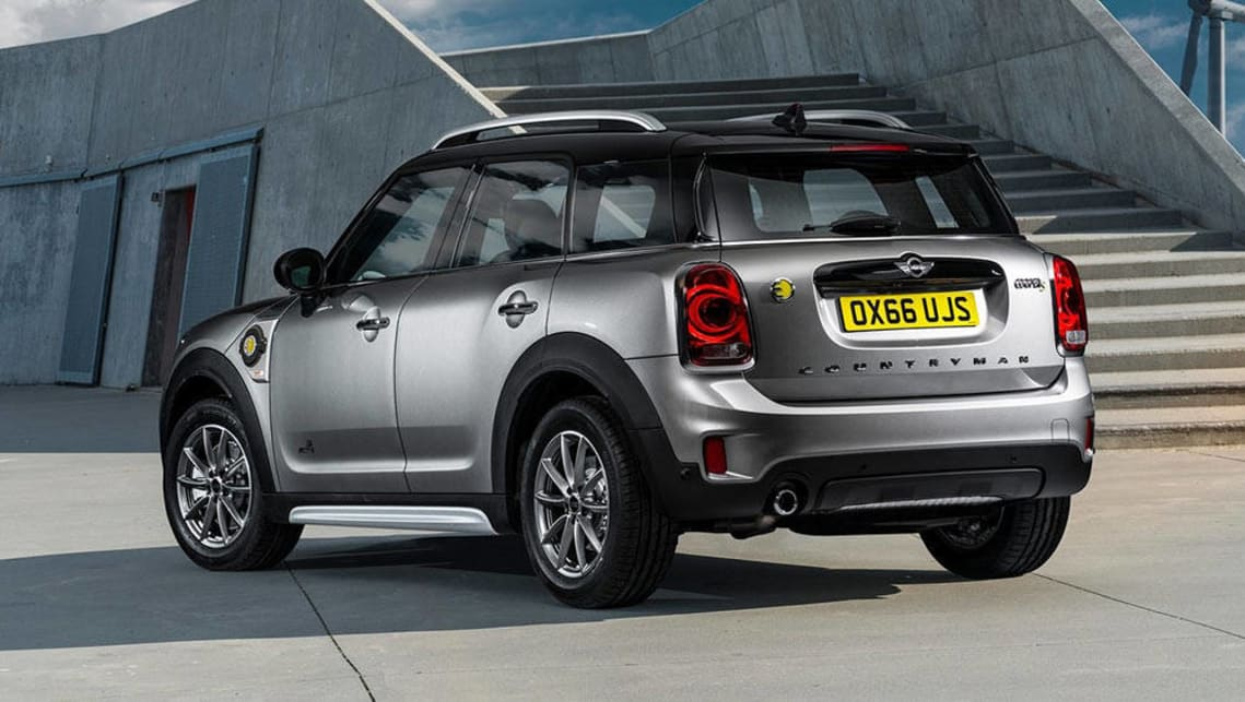 2017 mini countryman plug in hybrid set for australia. Black Bedroom Furniture Sets. Home Design Ideas