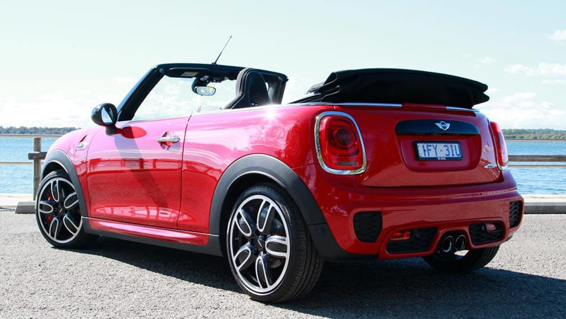 Mini Cabrio John Cooper Works Manual Convertible 2016 Review Carsguide