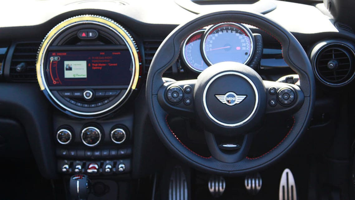 2016 Mini John Cooper Works Convertible.