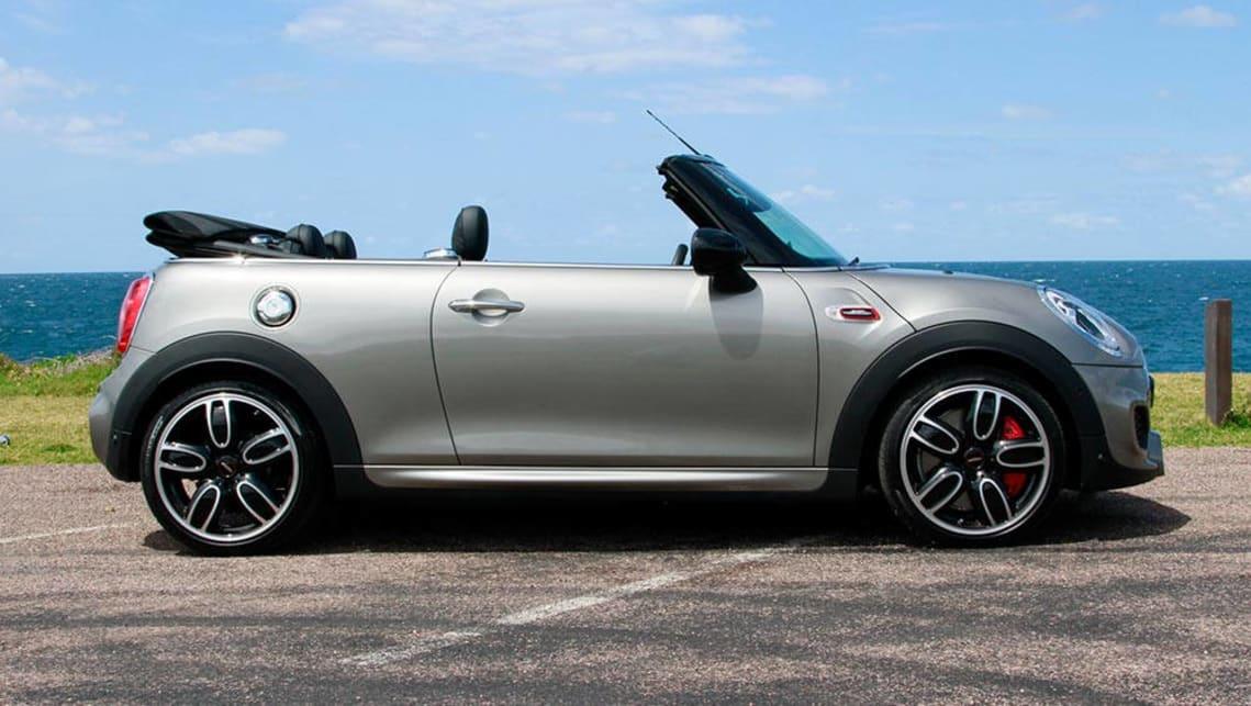 Mini Cabrio John Cooper Works Auto Convertible 2016 Review Carsguide