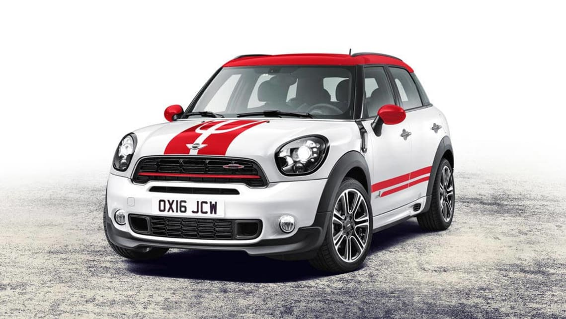 2017 mini countryman jcw revealed with more power and all wheel drive traction car news. Black Bedroom Furniture Sets. Home Design Ideas