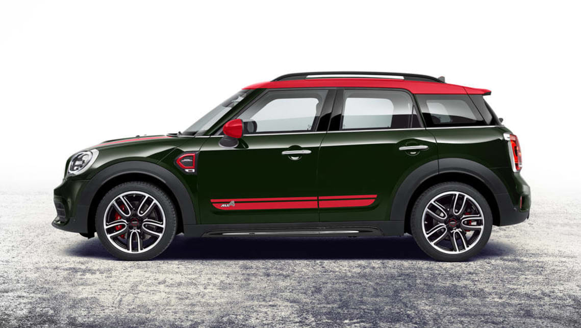 2017 Mini Countryman Jcw Revealed With More Power And All Wheel