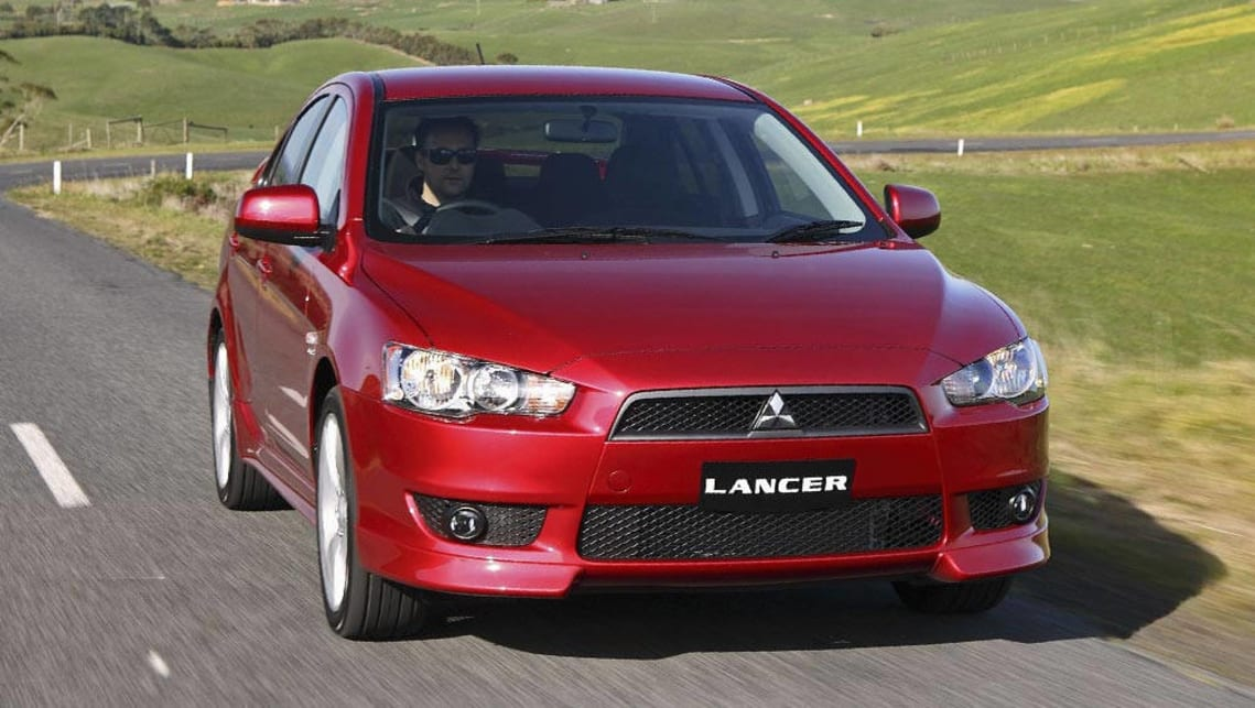 mitsubishi car photo lancer in silver dinnington used search
