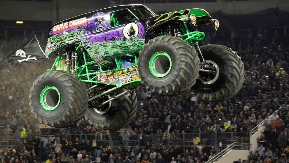 Monster Jam trucks have monster appeal - Car News | CarsGuide