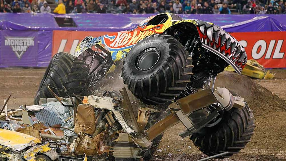 Monster Jam Trucks Have Monster Appeal Car News Carsguide