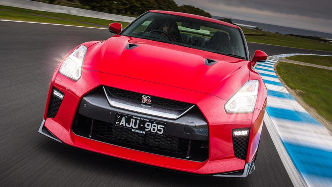 2017 Nissan GT-R swaps Nurburgring and 0-100 times for premium feel