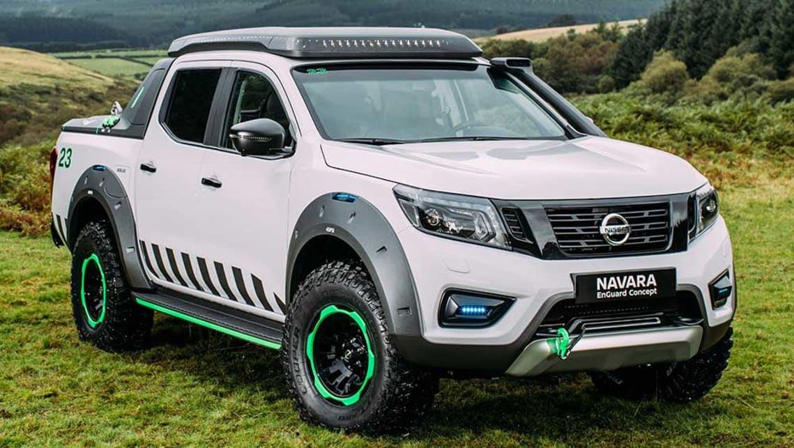 nissan navara enguard concept revealed car news carsguide. Black Bedroom Furniture Sets. Home Design Ideas