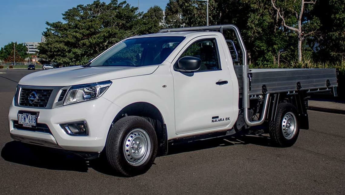 nissan navara np300 single cab dx cab chassis 4x2 2016 review carsguide. Black Bedroom Furniture Sets. Home Design Ideas