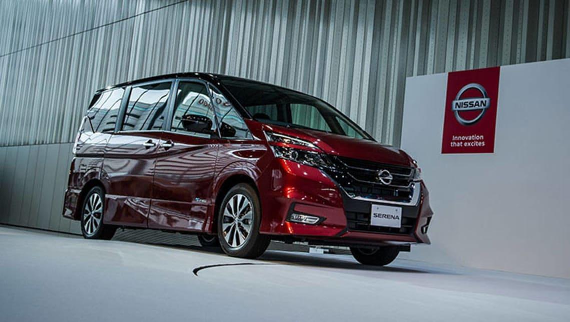 nissan serena autonomous drive 2017 review carsguide