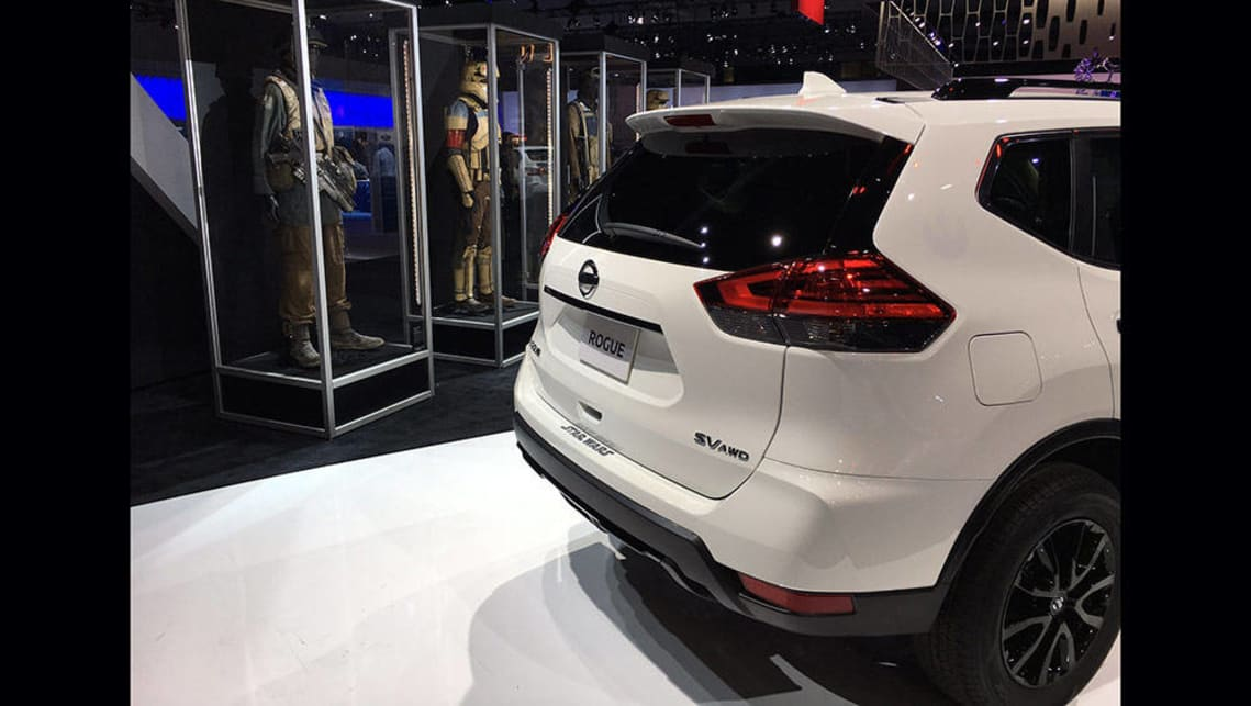 Suv Floor Mats >> Nissan goes Rogue with Star Wars special edition | LA ...