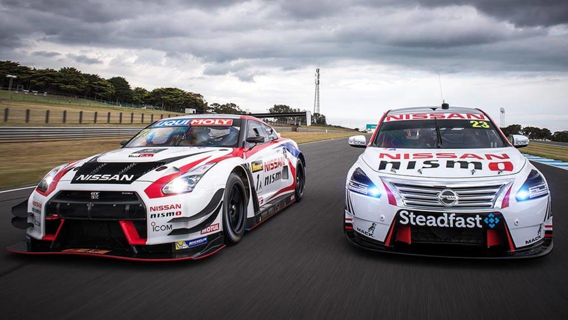 Nissan v8 supercars