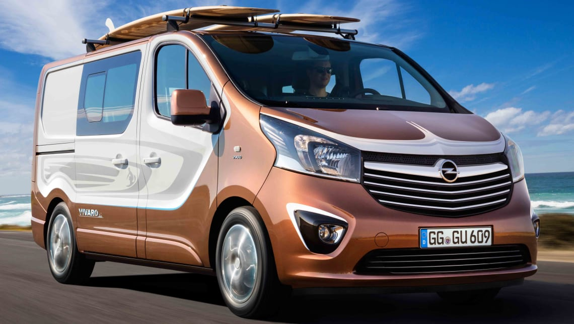 Opel Vivaro Surf Edition Previews Next Holden Sandman