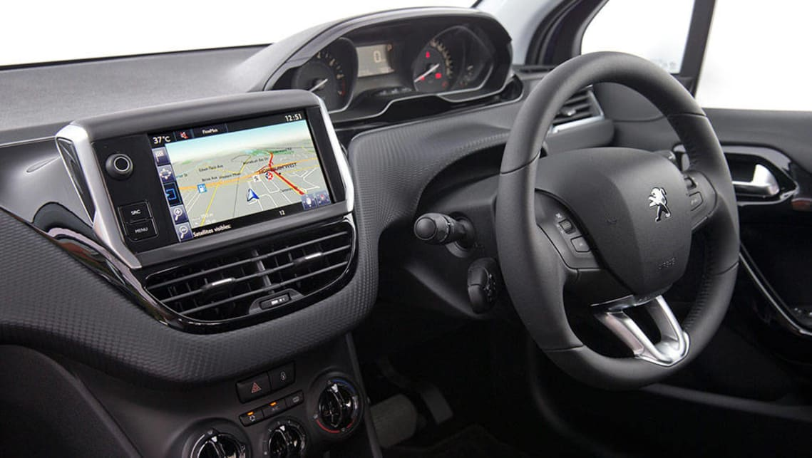 2016 peugeot 208 gt line review road test carsguide for Peugeot 208 interior 2017