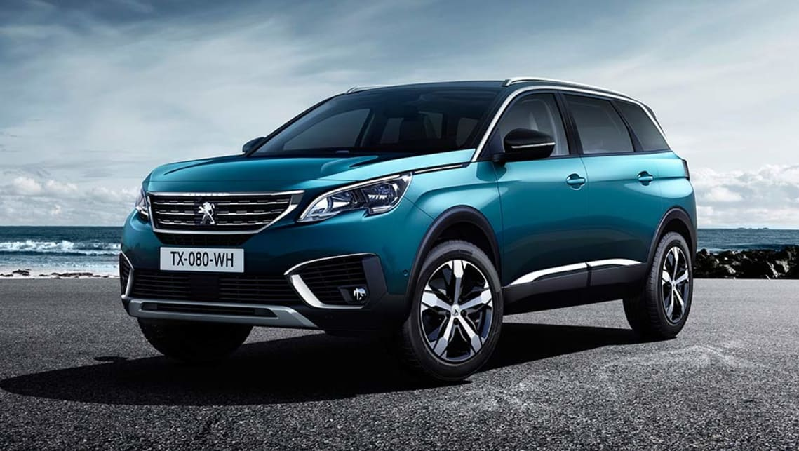 2017 Peugeot 5008 Suv Revealed Car News Carsguide