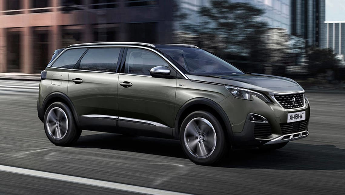 Seven Seater Suv >> 2017 Peugeot 5008 SUV revealed - Car News | CarsGuide