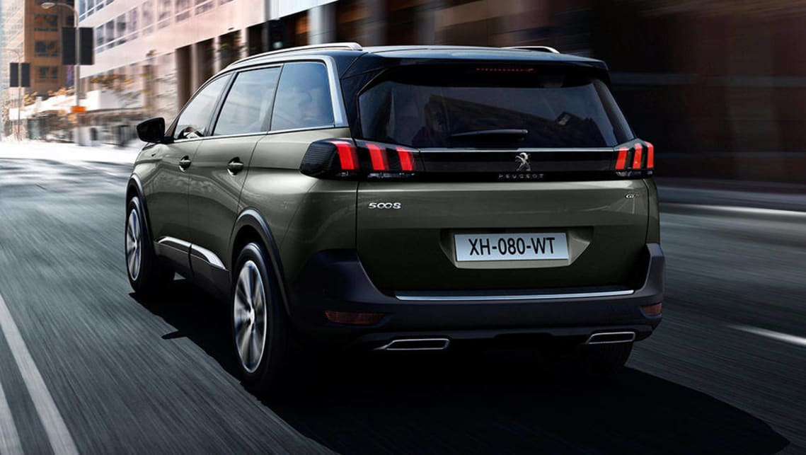 8 Seater Suv >> 2017 Peugeot 5008 SUV revealed - Car News   CarsGuide