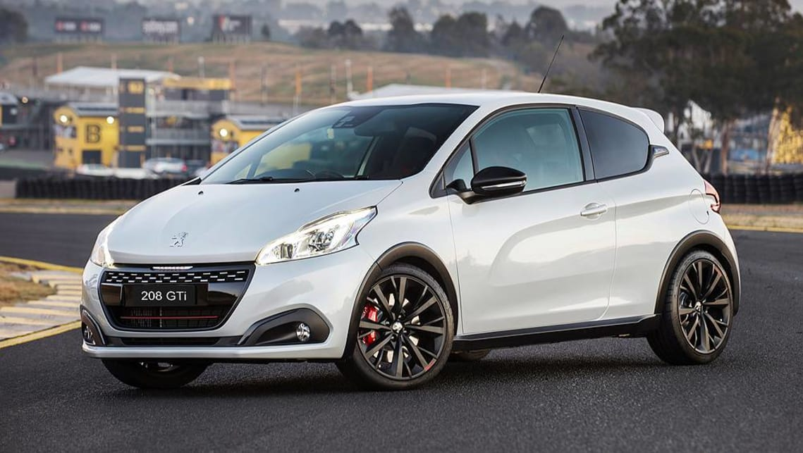 peugeot 208 gti edition definitive 2018 pricing and specs confirmed car news carsguide. Black Bedroom Furniture Sets. Home Design Ideas