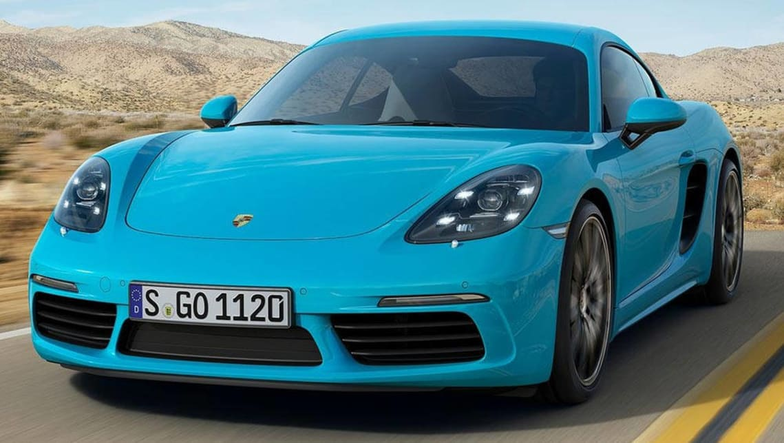 The Porsche Cayman, the car for people who can't afford a 911.
