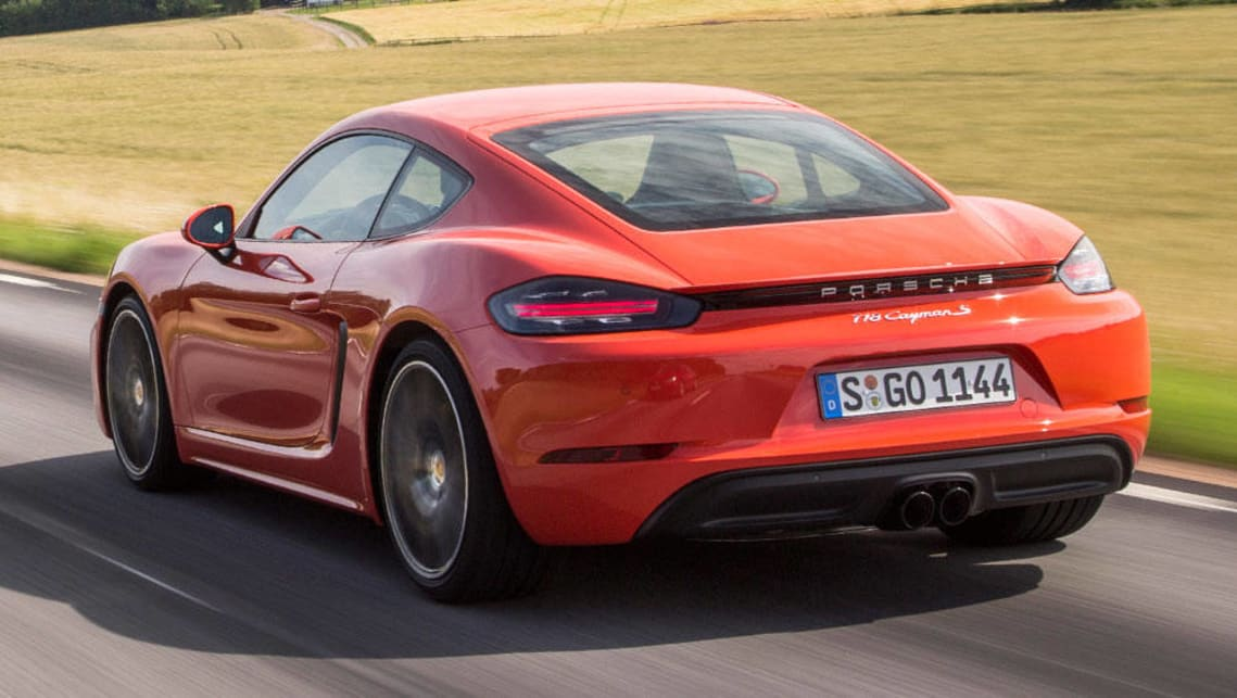 2016 Porsche Cayman S Review >> Porsche 718 Cayman S 2016 review | first drive | CarsGuide